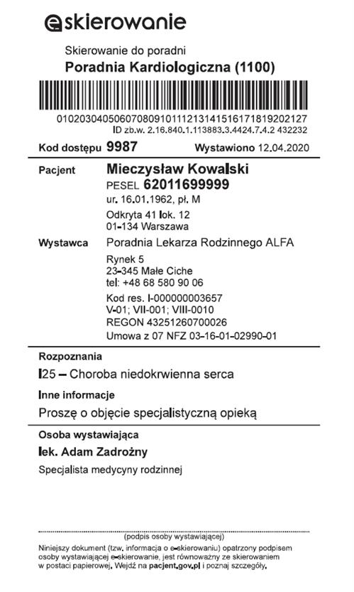 eskierowanie 5f86d65590e42 E skierowanie, e recepta i Internetowe Konto Pacjenta w serwisie pacjent.gov.pl – bezpieczne rozwiązanie dla pacjentów w czasach koronawirusa